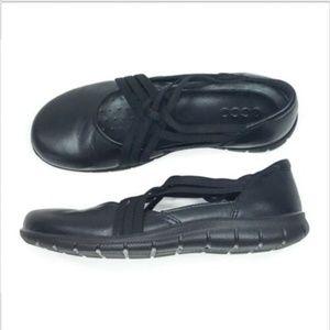 ECCO NWOB Slip On Babett Strappy Loafer Flat Shoes